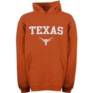 Texas Longhorns Toddler Dark Orange Tackle Twill Hooded Sweatshirt