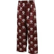 Texas A&M Aggies Kids 4-7 Maroon Team Logo Printed Pants