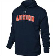 Auburn Tigers Under Armour Tackle Twill Fleece Hooded Sweatshirt