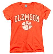 Clemson Tigers Women's Arch N Mascot T-Shirt