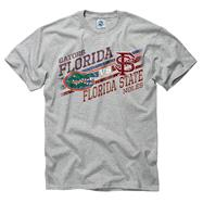 Florida Gators vs Florida State Seminoles Stance Rivalry T-Shirt