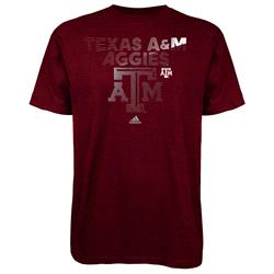 Texas A&M Aggies adidas Radiant Team T-Shirt - Maroon