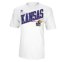 Kansas Jayhawks adidas Originals College Slats T-Shirt