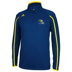 Michigan Wolverines adidas 2013 Spring Game Football Coaches Sideline 1/4 Zip Jacket