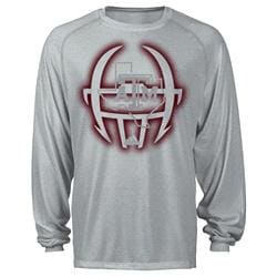 Texas A&M Aggies adidas 2013 Spring Game Football Sideline Performance Long Sleeve T-Shirt - Grey