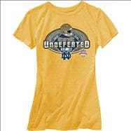 Notre Dame Fighting Irish Women's 2012 Undefeated Season T-Shirt - Gold