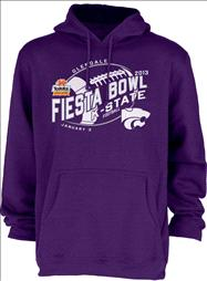 Kansas State Wildcats 2013 Fiesta Bowl Bound Hooded Sweatshirt
