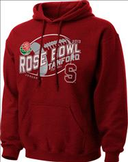 Stanford Cardinal Women's 2013 Rose Bowl Bound V-Notch Hooded Sweatshirt
