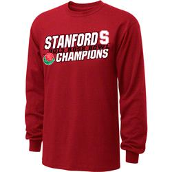 Stanford Cardinal 2013 Rose Bowl Champions Long Sleeve T-Shirt