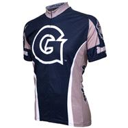 Georgetown Hoyas Short Sleeve Cycling Jersey