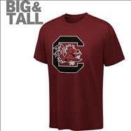 South Carolina Fighting Gamecocks Big & Tall NCAA Logo T-Shirt