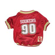 Oklahoma Sooners Mesh Dog Jersey