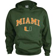 Miami Hurricanes Kids/Youth Perennial Hooded Sweatshirt