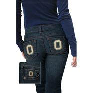 Ohio State Buckeyes Women's Denim Jeans - by Alyssa Milano