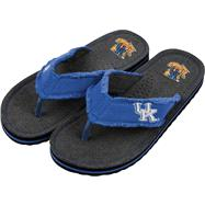 Kentucky Wildcats Team Color Flip Flop