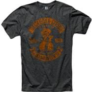 Oklahoma State Cowboys Heathered Black Rockers Ring Spun T-Shirt