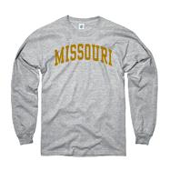 Missouri Tigers Grey Arch Long Sleeve T-Shirt