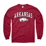 Arkansas Razorbacks Cardinal Perennial II Long Sleeve T-Shirt