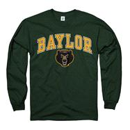 Baylor Bears Dark Green Perennial II Long Sleeve T-Shirt