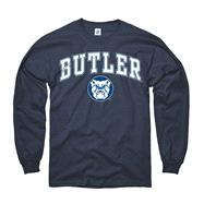 Butler Bulldogs Navy Perennial II Long Sleeve T-Shirt