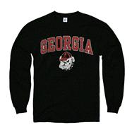 Georgia Bulldogs Black Perennial II Long Sleeve T-Shirt