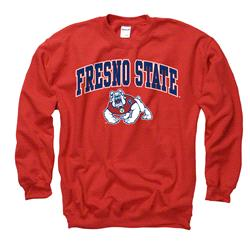 Fresno State Bulldogs Cardinal Perennial II Crewneck Sweatshirt