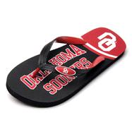 Oklahoma Sooners Zori Flip Flops