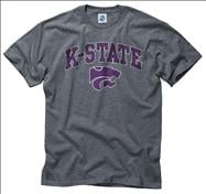 Kansas State Wildcats Dark Heather Perennial II T-Shirt