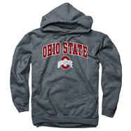 Ohio State Buckeyes Dark Heather Perennial II Hooded Sweatshirt