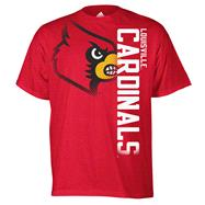 Louisville Cardinals Red adidas Battlegear T-Shirt