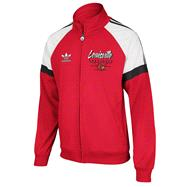 Louisville Cardinals Red adidas Originals BTC Full-Zip Track Jacket