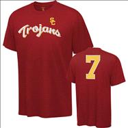 USC Trojans Cardinal 2012 Football Team Issue Football T-Shirt