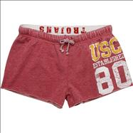 USC Trojans Women's Cardinal Ashley Fleece Shorts