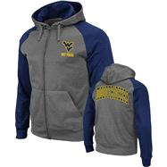 West Virginia Mountaineers Navy Swift Full-Zip Hooded Sweatshirt
