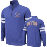 Boise State Broncos Royal Flex 1/4 Zip Fleece Sweatshirt