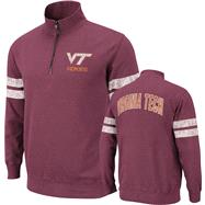 Virginia Tech Hokies Maroon Flex 1/4 Zip Fleece Sweatshirt