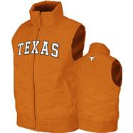 Texas Longhorns Tx Orange Women's Gameday Nordic Vest