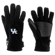 Kentucky Wildcats Black Columbia Thermarator Gloves