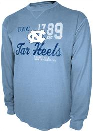 North Carolina Tar Heels Light Blue Gamebreaker Long Sleeve Thermal