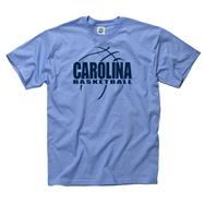 North Carolina Tar Heels Light Blue Primetime Basketball T-Shirt