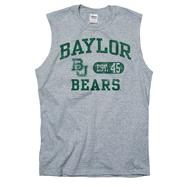 Baylor Bears Grey Boardwalk Sleeveless T-Shirt