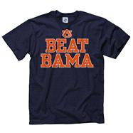 Auburn Tigers Navy Beat T-Shirt