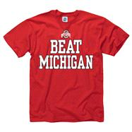 Ohio State Buckeyes Red Beat T-Shirt