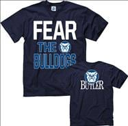 Butler Bulldogs Navy Fear T-Shirt