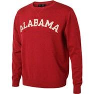 Alabama Crimson Tide Cardinal  Ring Spun Premiun Crewneck Sweatshirt