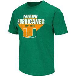 Miami Hurricanes Green Arcade T-Shirt