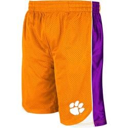 Clemson Tigers Orange Vector Shorts