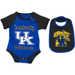 Kentucky Wildcats Infant Rocker Creeper and Bib Set