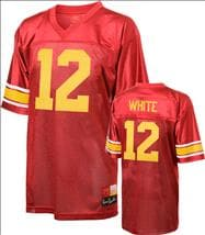 USC Trojans Cardinal Legend Charles White #12 Commemorative Football Jersey