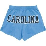 North Carolina Tar Heels Women's Light Blue Authentic Soffe Shorts